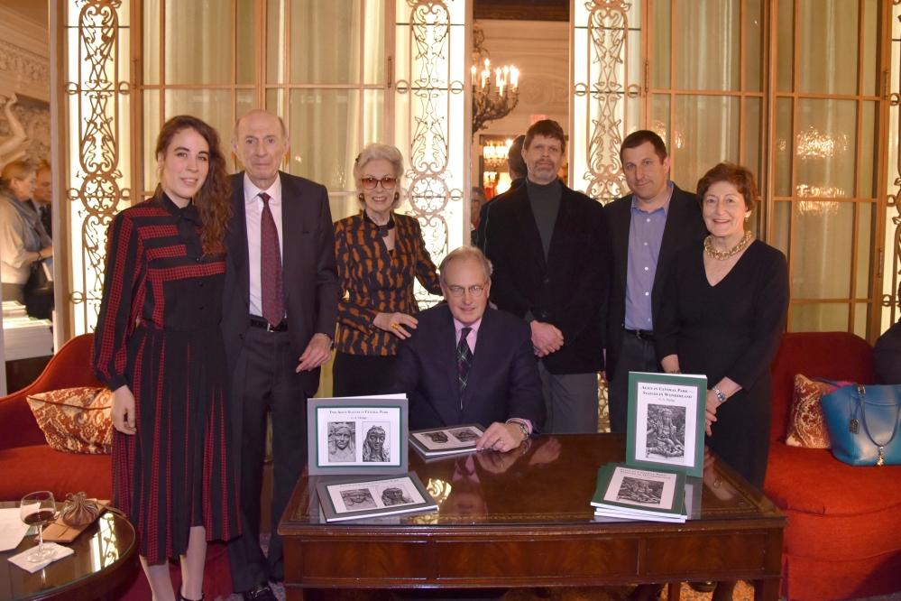 A_5867 Letitia Delacorte Spangler, Donald Tober, Barbara Tober, G.A. Mudge, Matthew Reiley, Jeffrey Spring, Sis Mudge