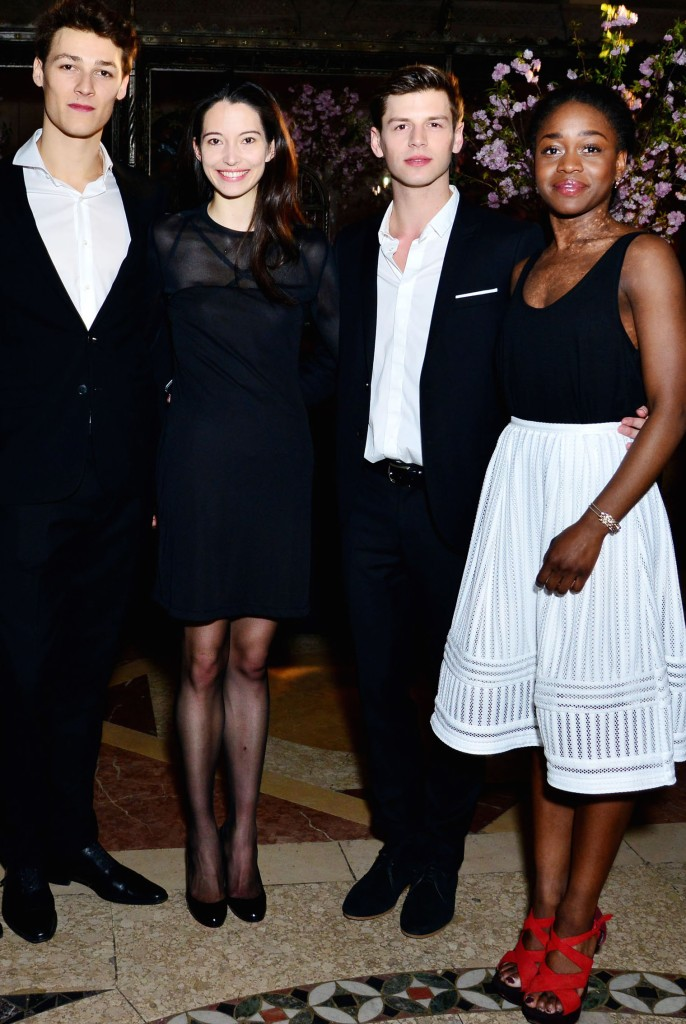 Tom Wirz, Hugo Marchand, Anna O'Neill, Edl Wignen, Michaela DePrince== 2016 Stars of Today Gala== 33 Lafayette, BK== April 28 2016== ©Patrick McMullan== Photo - Jared Siskin/PMC==