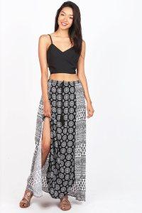Mandala-Split-Maxi-Skirt_BKWT-1