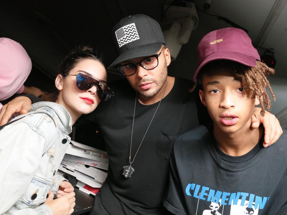 Kendall Jenner, Richie Akiva, Jaden Smith