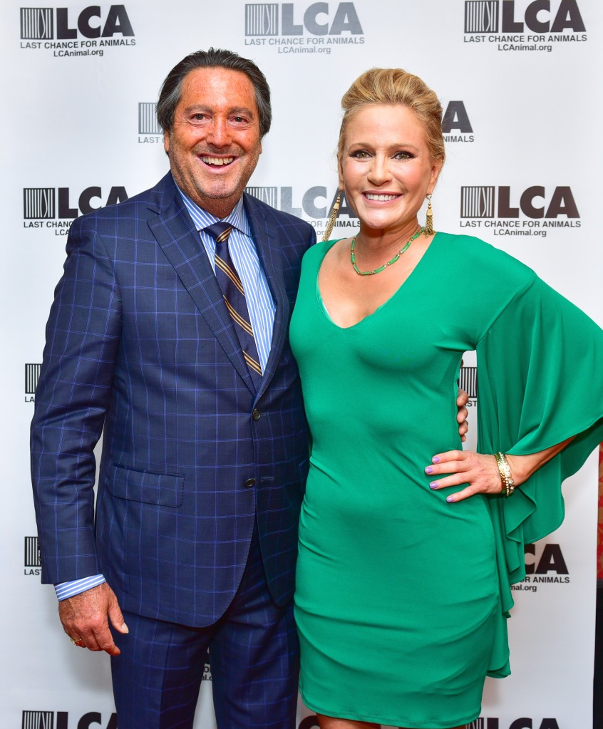 Larry Wohl, Leesa Rowland== Last Chance For Animals New York Fundraiser== Rosina, NY== September 18, 2016== ©Patrick McMullan== Photo - Sean Zanni/PMC== ==