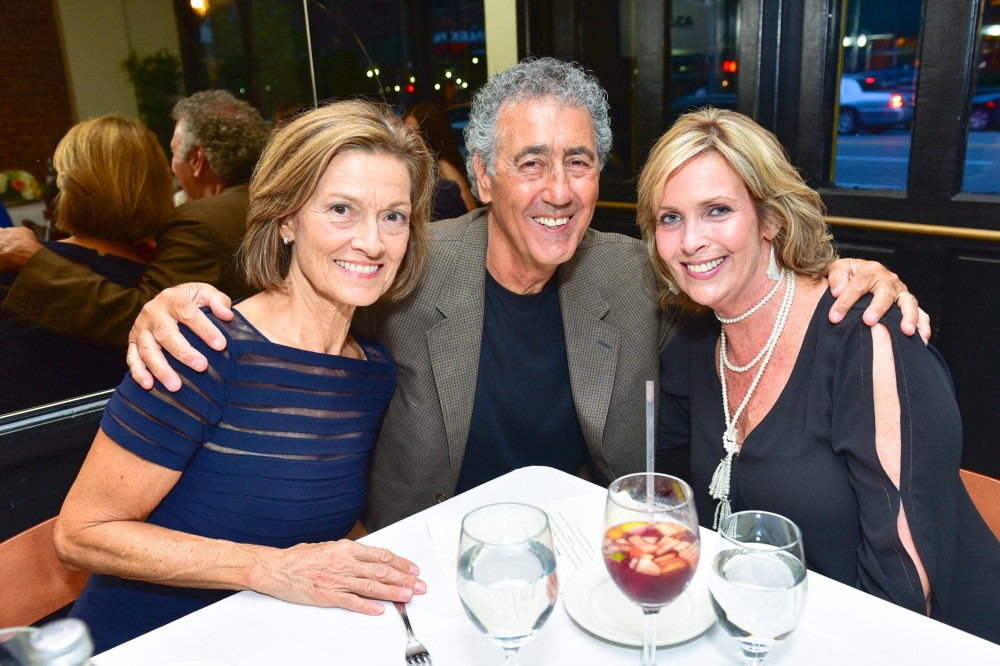 Linda Perri, Peter Perri, Michele Maria==Last Chance For Animals New York Fundraiser==Rosina, NY==September 18, 2016==©Patrick McMullan==Photo - Sean Zanni/PMC====