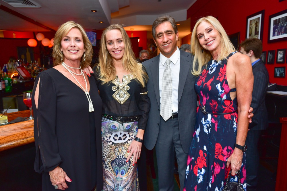 Michele Maria, Suzanne Oostdyk, Vito Maria, Dara Sowell== Last Chance For Animals New York Fundraiser== Rosina, NY== September 18, 2016== ©Patrick McMullan== Photo - Sean Zanni/PMC== ==