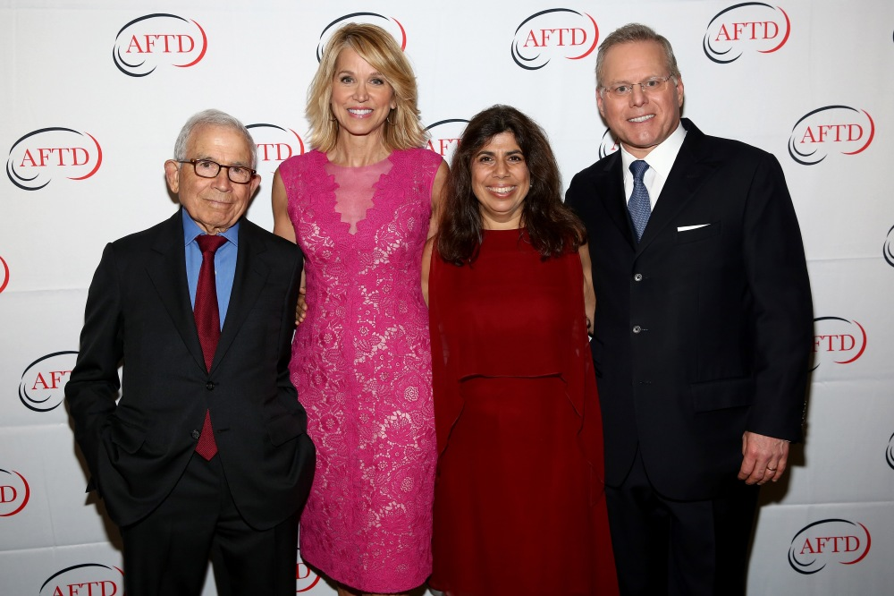 NEW YORK, NY - SEPTEMBER 29: President of Advance Publications Donald Newhouse, Newscaster Paula Zahn, Katherine Newhouse Mele and Chief Executive Officer of Discovery Communications David Zaslav attend The Association for Frontotemporal Degaeneration's Hope Rising Benefit at The Pierre Hotel on September 29, 2016 in New York City. (Photo by Monica Schipper/Getty Images for The Association for Frontotemporal Degeneration)