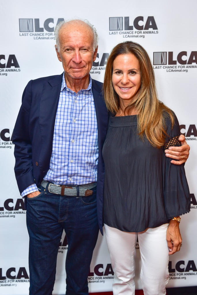 Ron Delsener, Samantha Marvin== Last Chance For Animals New York Fundraiser== Rosina, NY== September 18, 2016== ©Patrick McMullan== Photo - Sean Zanni/PMC== ==