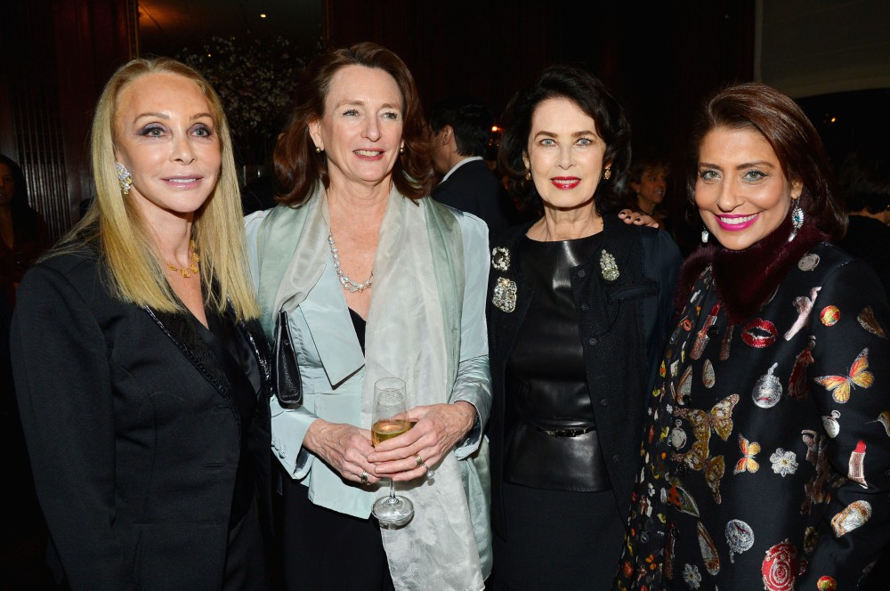 Barbara Winston, Marijcke Thomson, Dayle Haddon, Muna Rihani Al-Nasser== UN Women For Peace Association's Reception to Celebrate 2017 Award Luncheon Honorees== Neue Galerie, NYC== January 23, 2017== ©Patrick McMullan== photo - Patrick McMullan/PMC== ==