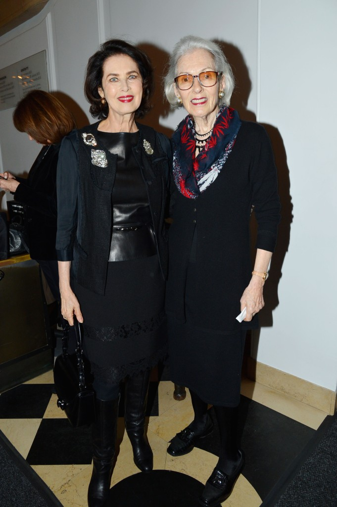 Dayle Haddon, Barbara Tober== UN Women For Peace Association's Reception to Celebrate 2017 Award Luncheon Honorees== Neue Galerie, NYC== January 23, 2017== ©Patrick McMullan== photo - Patrick McMullan/PMC== ==