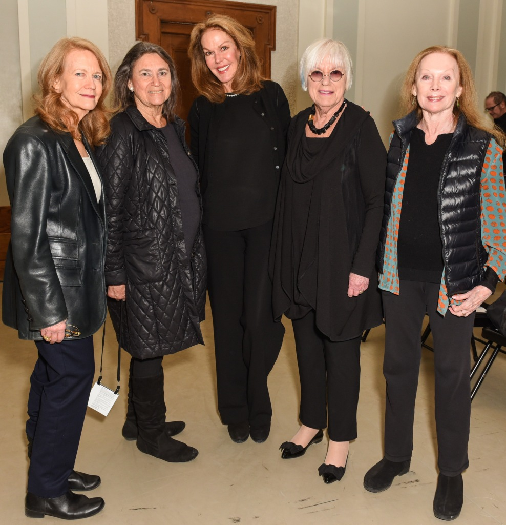 Elizabeth Harden, Sharon Hoge, CeCe Cord, Linda Morse, Allegra Kent== Youth America Grand Prix's First Position Club Presents: Making of an Artist with Daniel Ulbricht, New York City Ballet Principal Dancer== New York City Center, NYC== February 6, 2017== ©Patrick McMullan== Photo - Presley Ann/PMC== ==