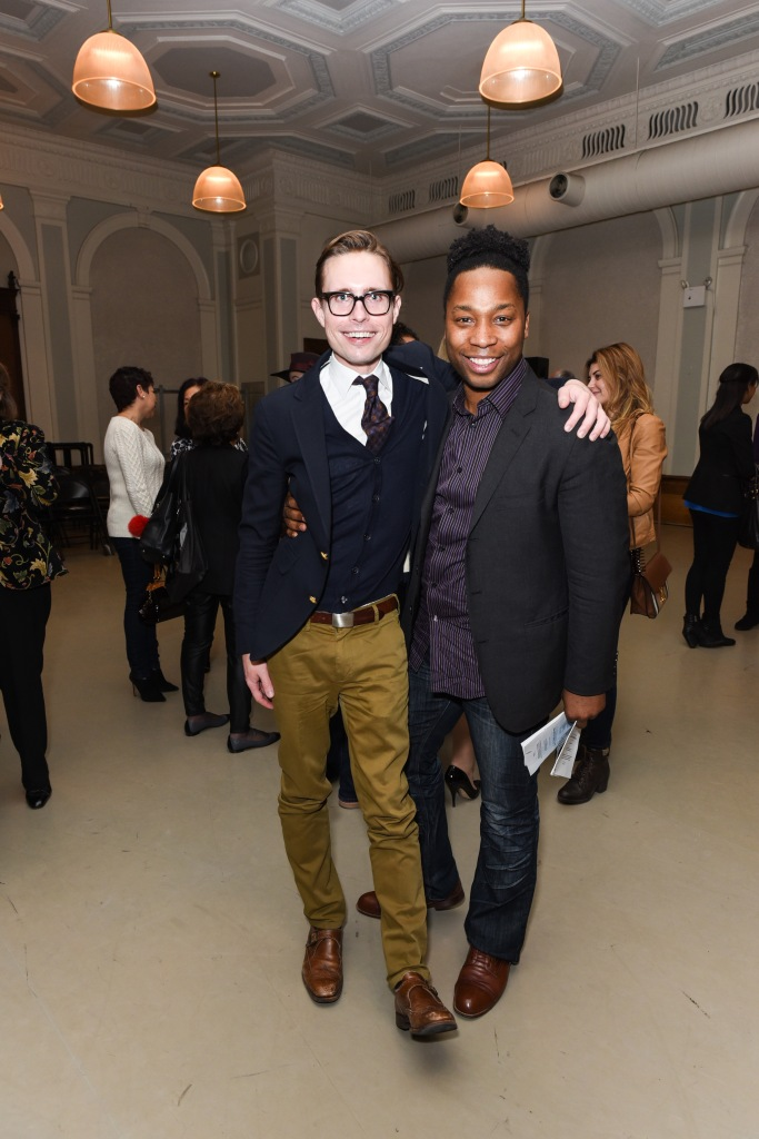 Lane Harwell, Abdul Latif== Youth America Grand Prix's First Position Club Presents: Making of an Artist with Daniel Ulbricht, New York City Ballet Principal Dancer== New York City Center, NYC== February 6, 2017== ©Patrick McMullan== Photo - Presley Ann/PMC== ==