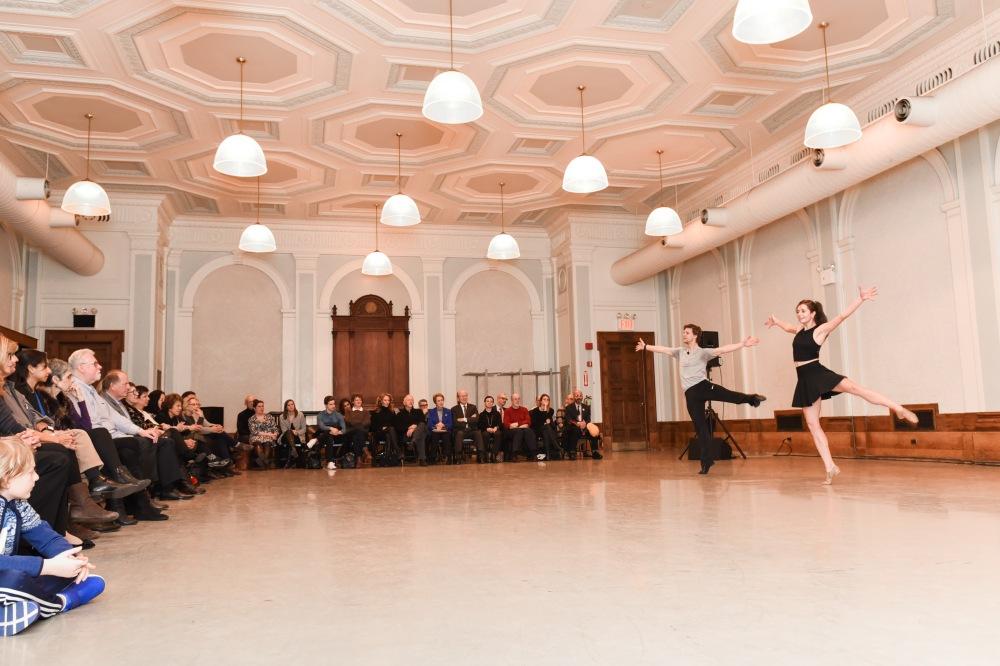 Daniel Ulbricht, Danielle Diniz== Youth America Grand Prix's First Position Club Presents: Making of an Artist with Daniel Ulbricht, New York City Ballet Principal Dancer== New York City Center, NYC== February 6, 2017== ©Patrick McMullan== Photo - Presley Ann/PMC== ==