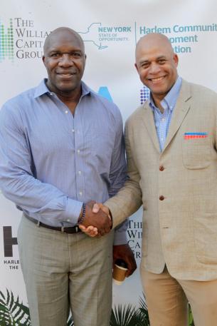 Marvin Washington and Eric G. Pryor