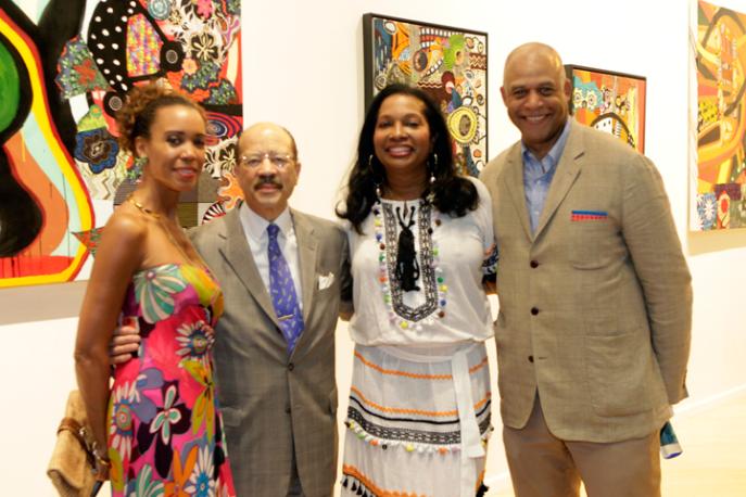 Michelle Fizer Peterson, Charles J. Hamilton Jr., Janice Savin Williams and Eric G. Pryor