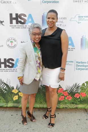 Nevah Assang and Angie Hancock