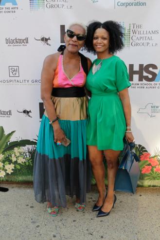 Marita Green Monroe and Shahana Williams