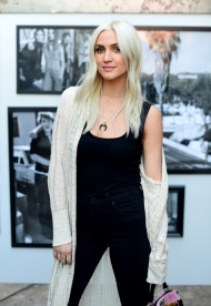 Ashlee Simpson-Ross Attends Lucky Brand's FW17 Preview