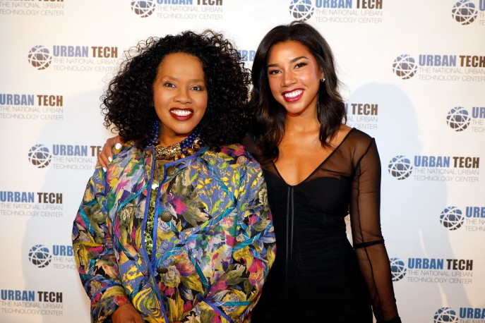 Sherry Bronfman and Hannah Bronfman attend the 2017 Urban Tech Gala at Guastavino's on June 14, 2017 in New York City. (Photo by Johnny Nunez/WireImage)