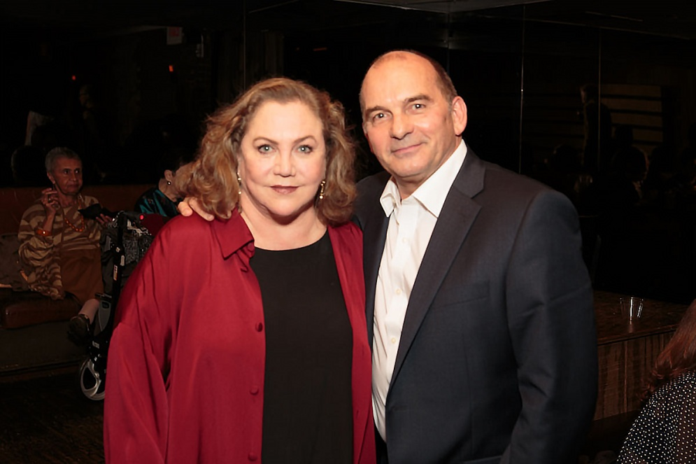 Artistic Director Pascal Rioult and Kathleen Turner Photo by Eric Bandiero