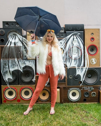 Maddie Pocks at CASA BACARDÍ : at the Governors Ball Music Festival