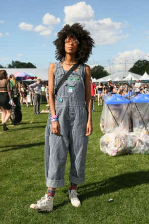 Briana King at CASA BACARDÍ : at the Governors Ball Music Festival