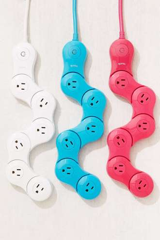 Quirky Pivoting Power Strip from www.urbanoutfitters.com