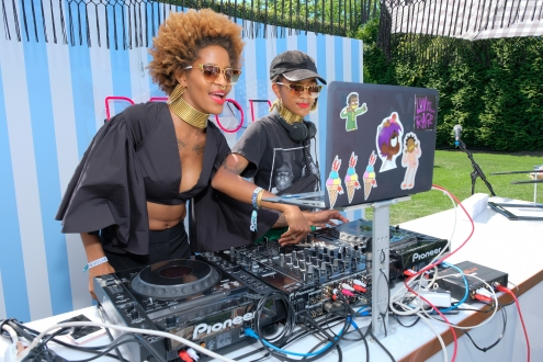 Designers Coco and Breezy (Photo by Matthew Eisman/Getty)