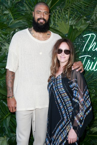 JULY 11: NBA player Tyson Chandler (L) and Jaymee Messler attend The Players' Tribune Hosts Players' Night Out 2017 at The Beverly Hills Hotel on July 11, 2017 in Beverly Hills, California. (Photo by Leon Bennett/Getty Images for The Players' Tribune )
