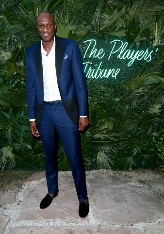 JULY 11: NBA player Lamar Odom attends The Players' Tribune Hosts Players' Night Out 2017 at The Beverly Hills Hotel on July 11, 2017 in Beverly Hills, California. (Photo by Leon Bennett/Getty Images for The Players' Tribune )