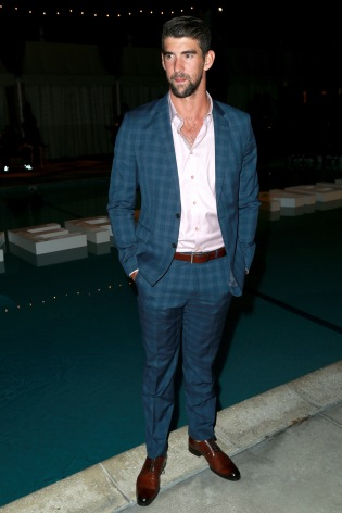 JULY 11: Olympic swimmer Michael Phelps attends The Players' Tribune Hosts Players' Night Out 2017 at The Beverly Hills Hotel on July 11, 2017 in Beverly Hills, California. (Photo by Leon Bennett/Getty Images for The Players' Tribune )
