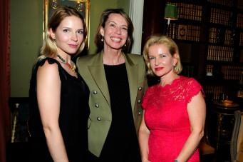 Elizabeth Orlov, Millicent Powers, Natalie Powers by ©Patrick McMullan Photo - Paul Bruinooge/PMC