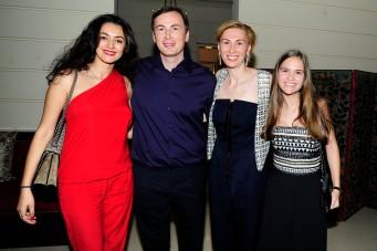 Guzal Fahri, Sergei Ivonin, Kristina Allegra, Stacy Kingston by ©Patrick McMullan Photo - Paul Bruinooge/PMC