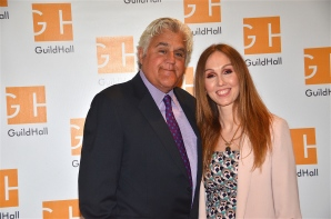 Jay Leno, Andrea Grover Executive Director by Barry Gordin