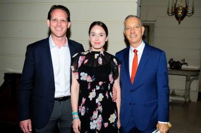 Jeff Hirsch, Danielle Hirsch, George Vanderploeg by ©Patrick McMullan Photo - Paul Bruinooge/PMC