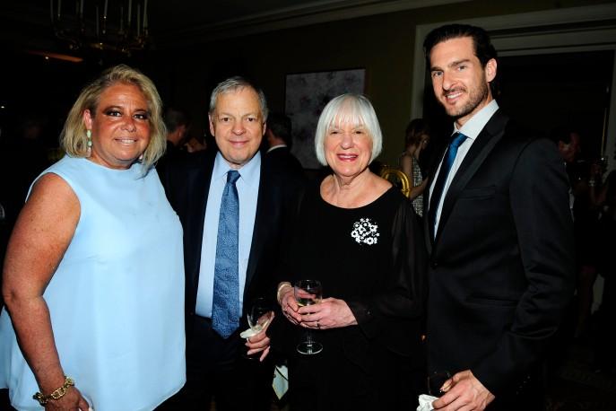 Joanna Fisher, Ed Morse, Linda Morse, Michael Kelly by ©Patrick McMullan Photo - Paul Bruinooge/PMC