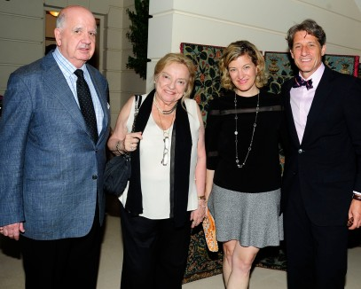 John Brewer, Lillian Kramer, Marnie Sadlowsky, Mark Lingle by ©Patrick McMullan Photo - Paul Bruinooge/PMC