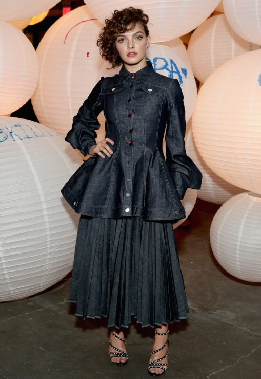 Actress Camren Bicondova attends the Refinery29 Third Annual 29Rooms: Turn It Into Art