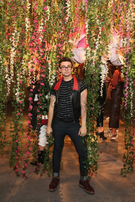 Fashion designer Christian Siriano attends the Refinery29 Third Annual 29Rooms: Turn It Into Art event