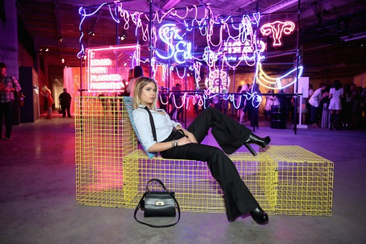 Ashley Benson attends the Refinery29 Third Annual 29Rooms: Turn It Into Art event