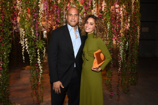 US Senator Cory Booker and poet Cleo Wade attends the Refinery29 Third Annual 29Rooms: Turn It Into Art