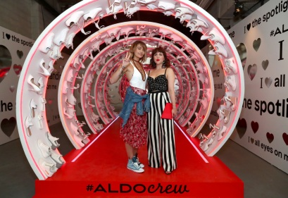 Paris Jackson and Piera Gelardi attend the Refinery29 Third Annual 29Rooms: Turn It Into Art event