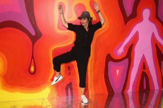 Actor Constance Zimmer attends the Refinery29 Third Annual 29Rooms: Turn It Into Art