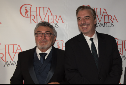 Antonio Vendome and Chris Noth