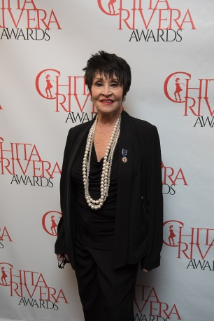 Chita Rivera at Sardi's