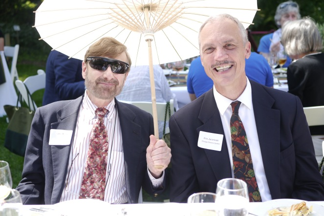 LHR_Landscape_Luncheon_Dr Larry Becker, Kris Jarantoski