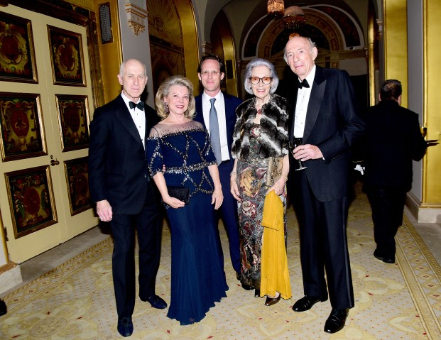 Ed Lavano, Julie Juarez, ?, Barbara Tober, Donald Tober (Photo - Aurora Rose/PMC)