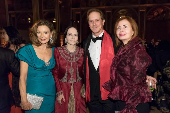 Margo Langenberg, Mary McFadden, Shayne Doty, Sana Sabbagh (Photo by Annie Watt)