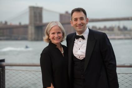 Kimberlee Aulatta and Eric Landau