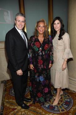 Y. David Scharf, Denise Rich, Cheryl Scharf