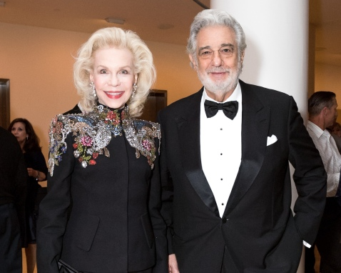 Lynn Wyatt, Placido Domingo