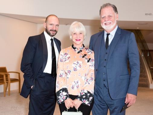 Ralph Fiennes, Helen Mirren, Taylor Hackford
