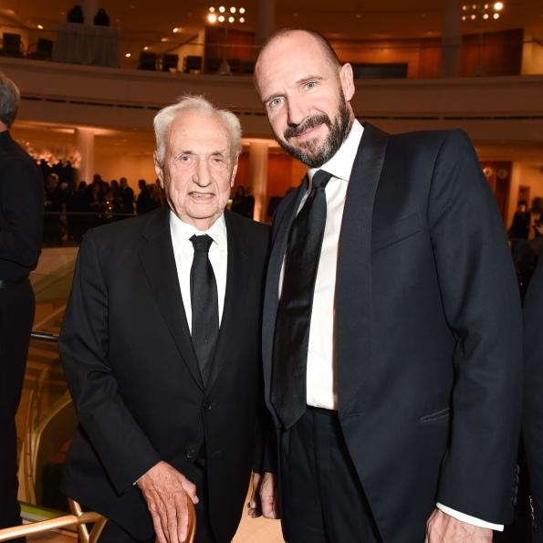 Frank Gehry, Ralph Fiennes